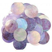 Ballon confetti iridescent 2,5 cm, zakje 15 gram