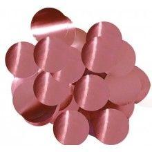 Ballon confetti Rose gold 30mm, zakje 15 gram