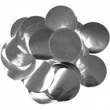 Ballon confetti Silver 30mm, zakje 15 gram