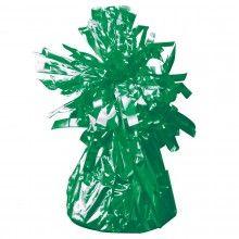 Ballongewicht groen metallic