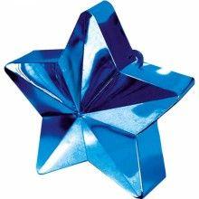 Ballongewicht ster blauw