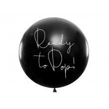 Gender Reveal reuzeballon Ready to Pop! (meisje)