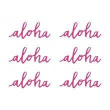 Aloha papieren decoraties