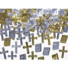 Tafelconfetti kruizen en bijbels