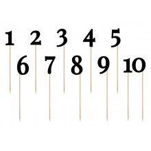 Tafelnummer kaartjes