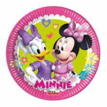 Borden Minnie Mouse Happy 20cm, 8 stuks