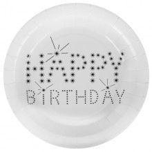 Borden Happy Birthday, 10 stuks