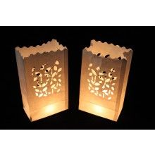 Candle bag leafs