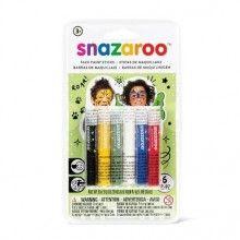 Snazaroo schmink sticks Rainbow, 6 stuks