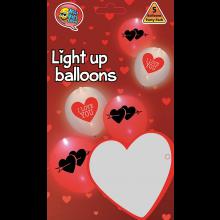 LED ballonnen Love 5 stuks