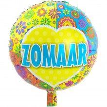 Folieballon 45cm Zomaar, per stuk