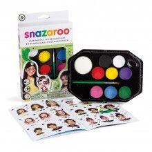 Snazaroo gezicht schminkset Rainbow met instructieboekje