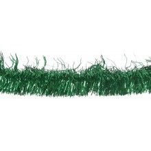 Guirlande slinger foil groen, 4 meter