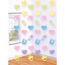 Hangdecoraties babyshower, 6 x 2.13 mtr