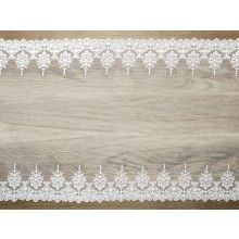 Luxe decoratief kant 3 off-white, 45cm x 9mtr