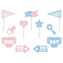 Gender Reveal Party Props