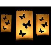 Candle bag butterflies