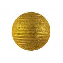 Lampion gold glitter