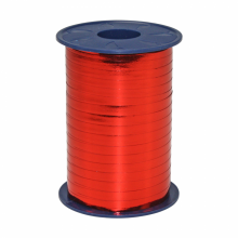 Rol lint 5mm rood metallic, 250 meter