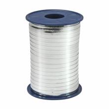 Rol lint 5mm zilver metallic, 250 meter