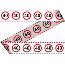 Markeerlint verkeersbord leeftijden-40
