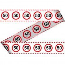 Markeerlint verkeersbord leeftijden-50