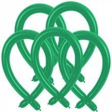Modelleer ballonnen groen, 25 stuks