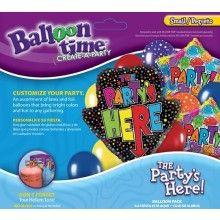 Ballonnen combi set Party's Here!