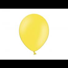 Party ballon 27cm geel, 10 stuks