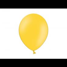 Party ballon 27cm honing geel, 50 stuks
