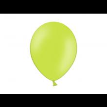 Party ballon 27cm lime groen, 10 stuks