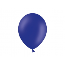 Party ballon 27cm blauw, 50 stuks
