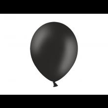Party ballon 27cm zwart, 50 stuks