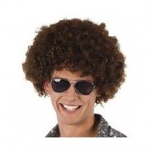 Partybril retro grijs, per stuk