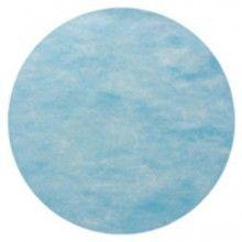 Placemat 36cm lichtblauw, 10 stuks