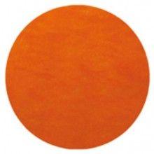 Placemat 36cm oranje, 10 stuks