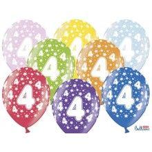 Leeftijd ballonnen 4 jaar