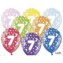 Leeftijd ballonnen 7 jaar