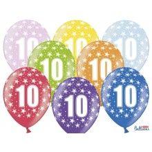 Leeftijd ballonnen 10 jaar