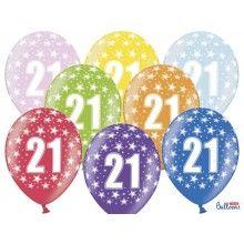 Leeftijd ballonnen 21 jaar