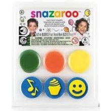 Snazaroo schminkstempels verjaardagsfeest