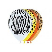 Sempertex ballonnen Jungle Animals 25 stuks
