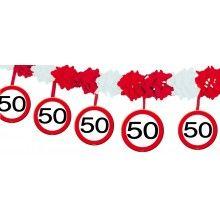 Slinger verkeersbord leeftijd-50