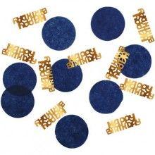 Confetti true blue Happy Birthday, 25 gram