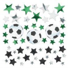 Tafelconfetti voetbal mix, 34gram