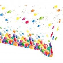 Tafelkleed ballonnen 120 x 180cm