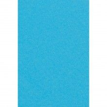 Papieren tafelkleed carribean blauw, 137 x 274cm