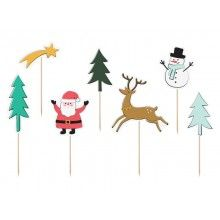 Toppers Merry Xmas mix